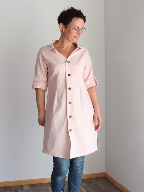 Azora Kurzes kleid rosa