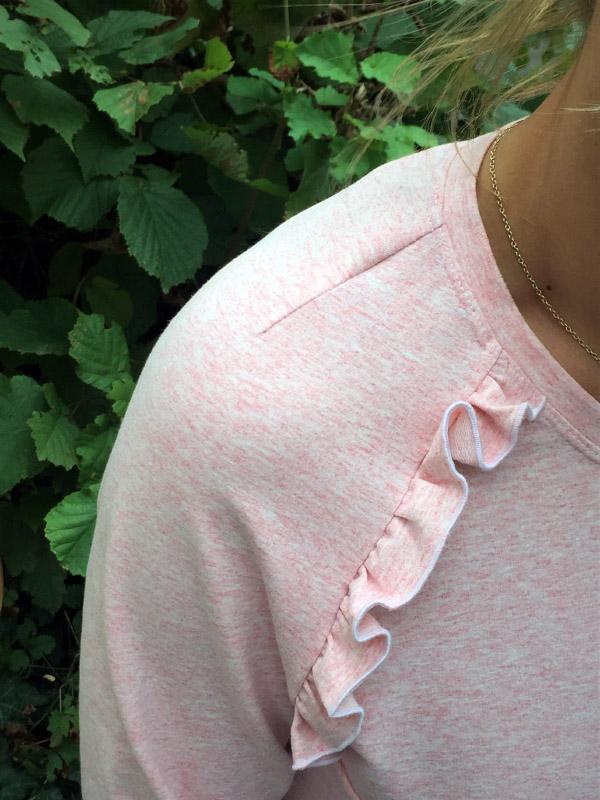 Shirt Charlette Detail Schulter