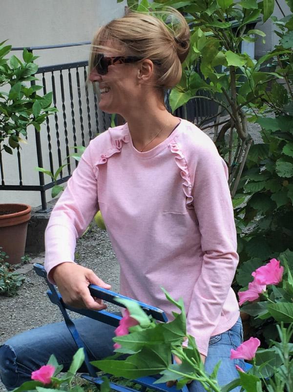 Shirt Charlette rosa