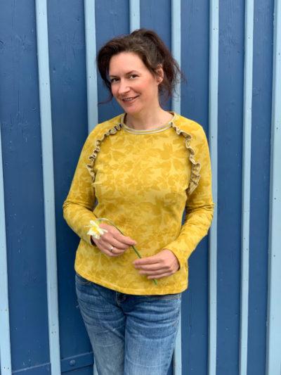 Shirt Charlette gelb Steph