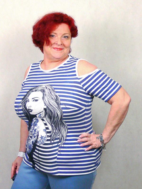 Shirt Hella gestreift große groesse