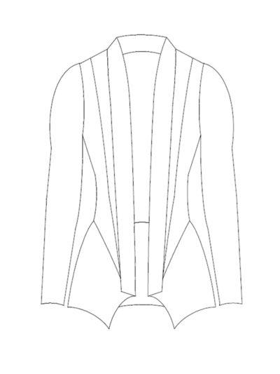 Jazzy technische Zeichnung