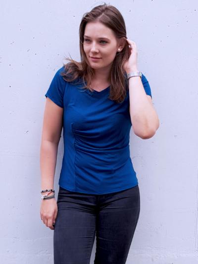 Shirt Joyce blau Johanna