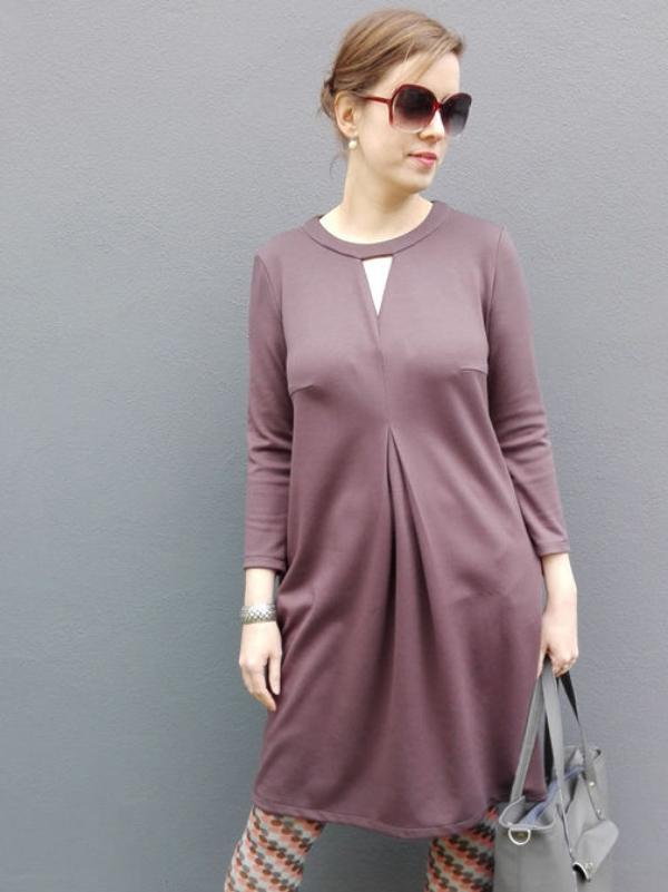 Kleid Alix braun