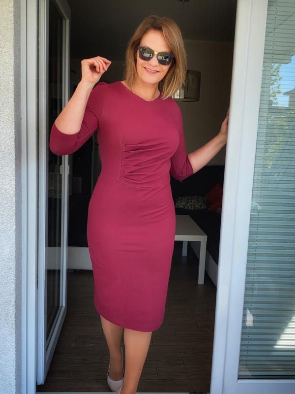 Kleid Joyce Caro rot