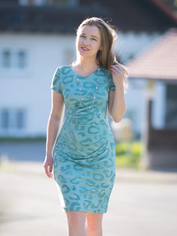 Kleid Joyce blau Ivonne