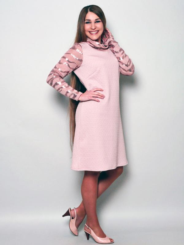 Kleid Neta rosa
