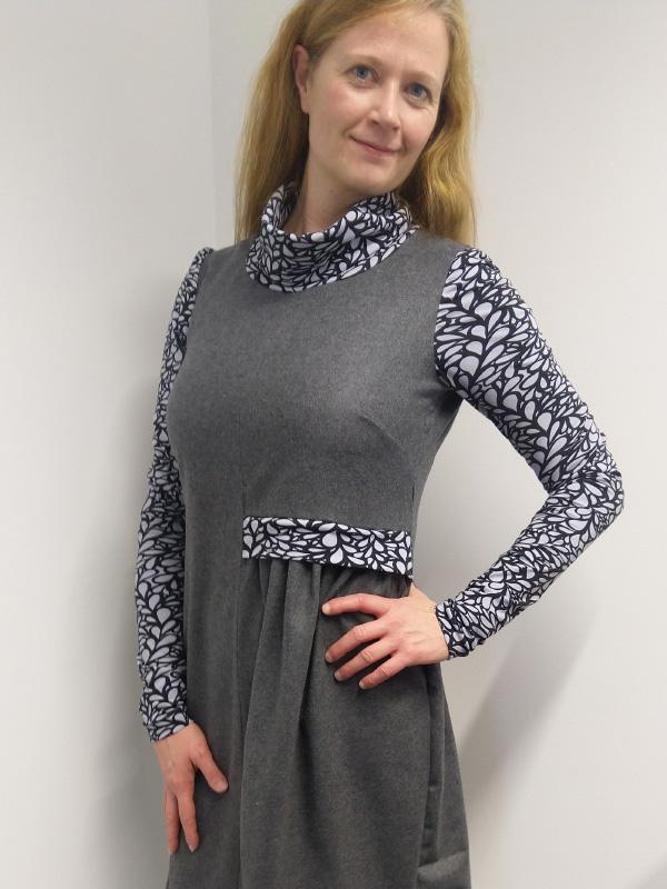 Kleid Neta Coulier grau