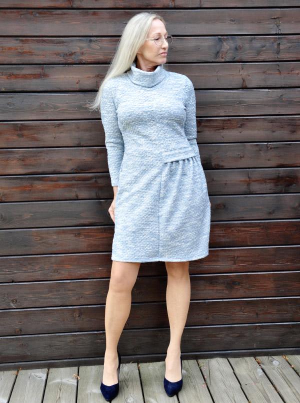 Kleid Neta Oesterreich grau