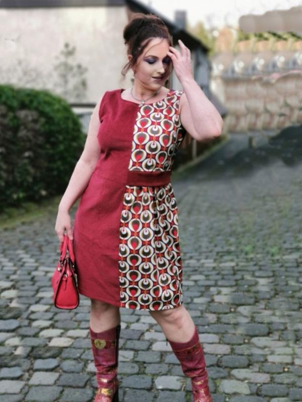 Kleid Neta rot