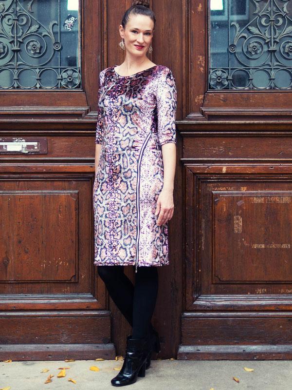 Kleid Sarana Velvet
