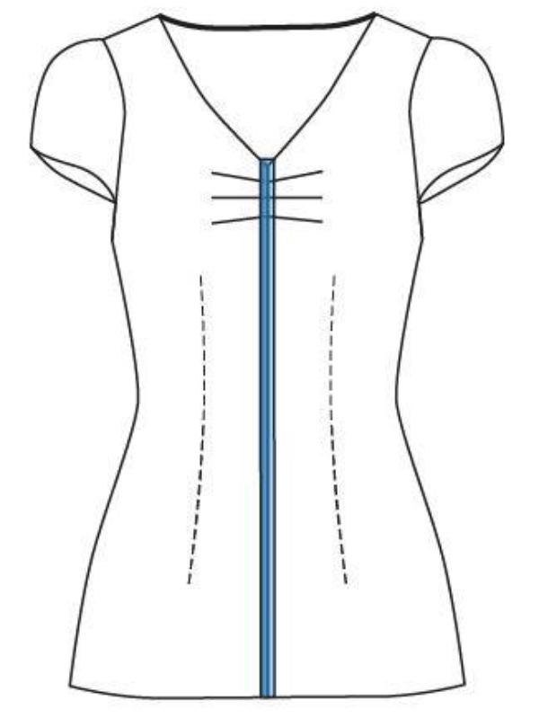 Pascale technische Zeichnung
