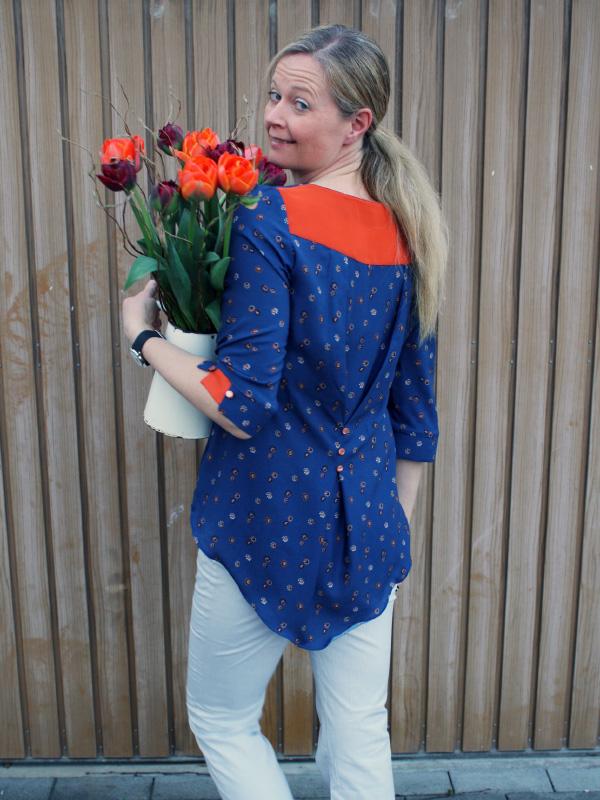 Primavera 40 orange blau