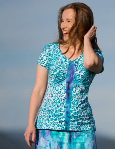 Raffaelle Shirt kurzarm leo