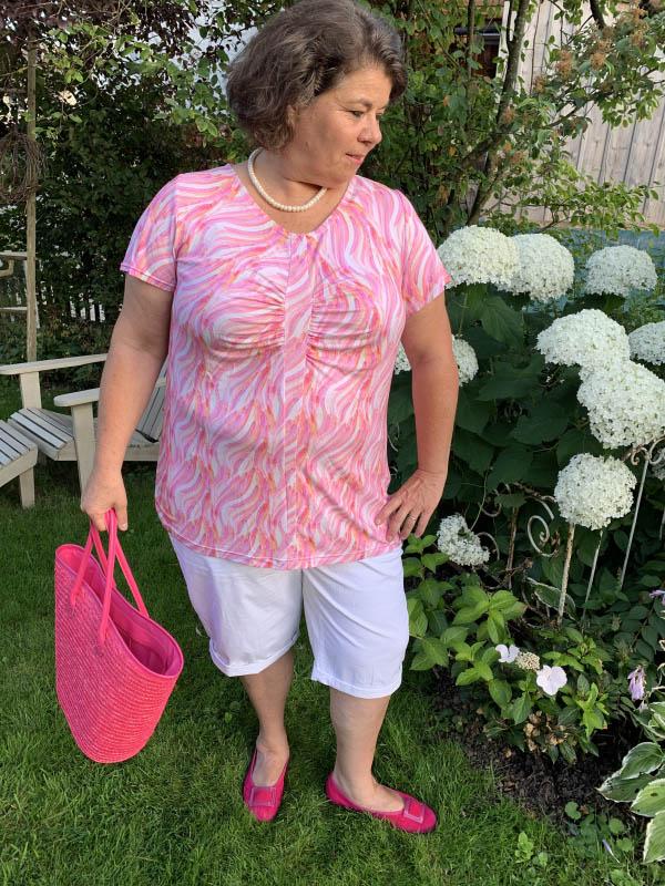 Raffaelle Shirt kurzarm rosa Gr. 52