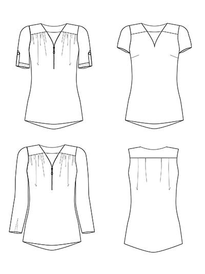 Rosanne Technische Zeichnung