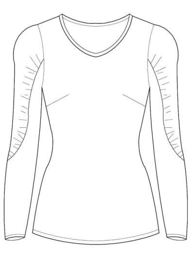 Rumba Technische Zeichnung
