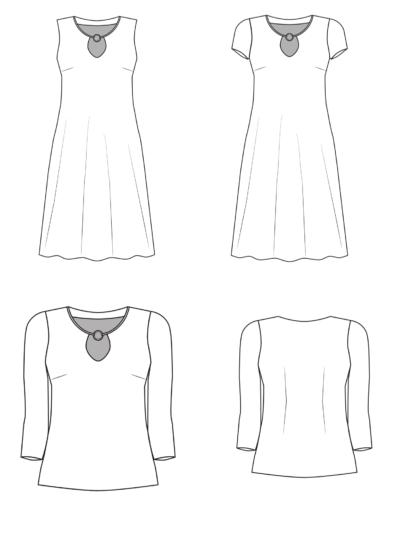 Samba technische Zeichnung