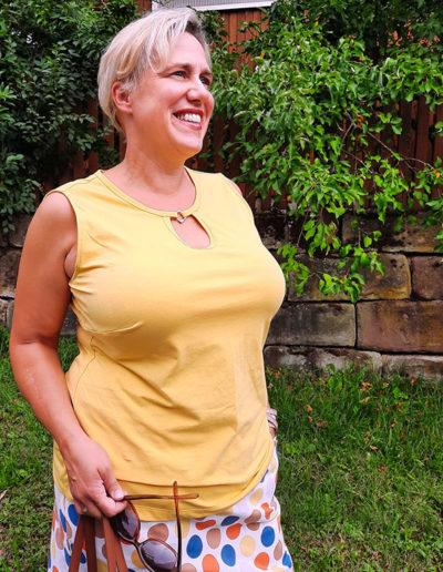 Samba ärmelloses Shirt 46