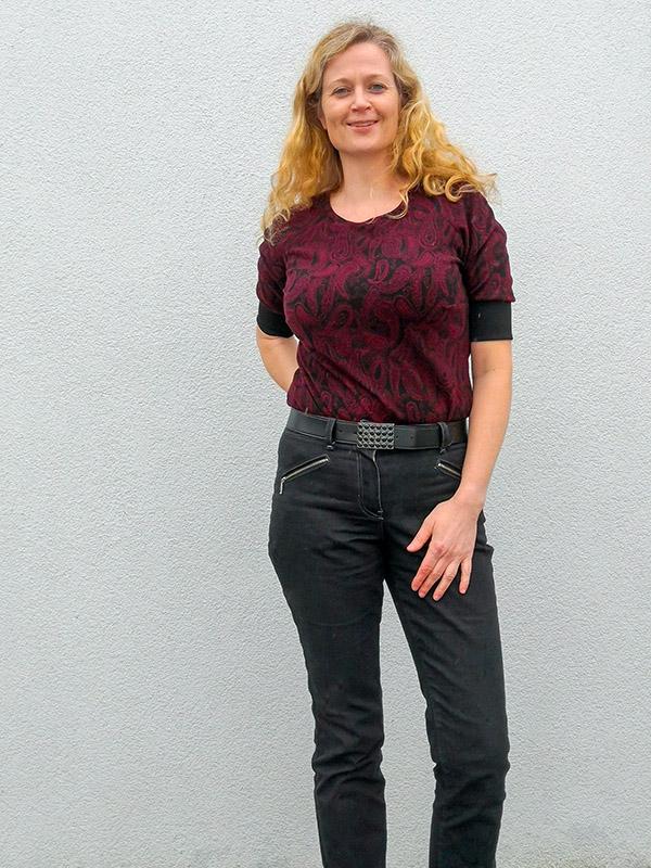 Gianna 38 Jeans Mit Raglanshirt