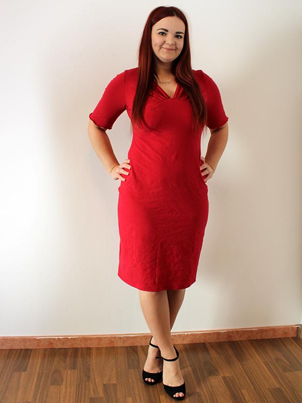Yelda 42 Kleid Rot