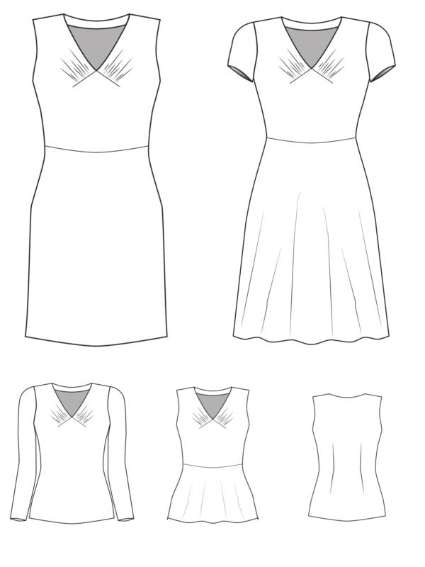 Yelda technische Zeichnung
